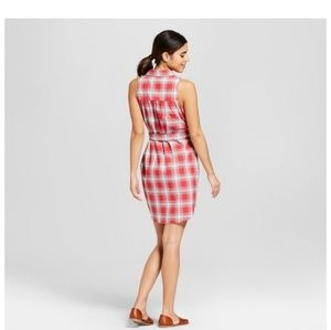 Dresses & Skirts - WOMENS'S PLAID SHIRT DRESS  COMFORTABLE LOOK.